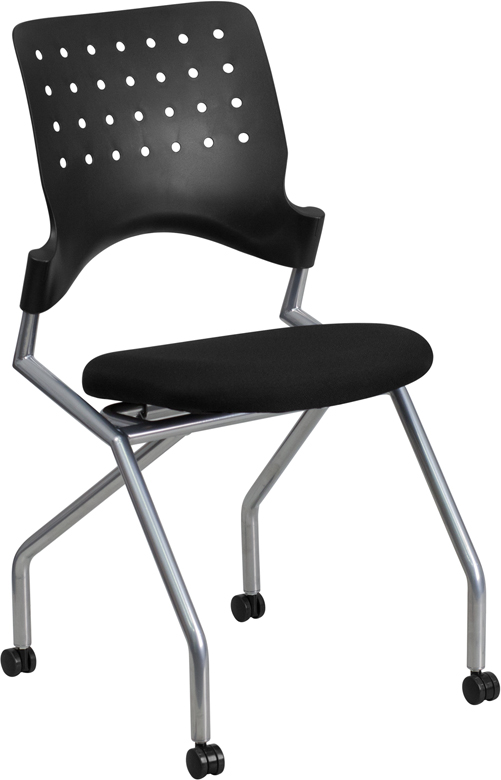 Flash Furniture  Nesting Training/conference Room Chair Spacesaver Design