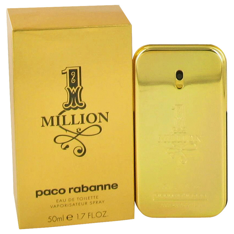 1 Million 1.7 Oz by Paco Rabanne For Men