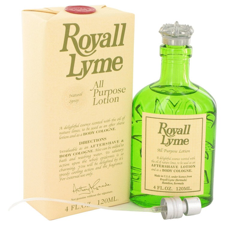 Royall Lyme 4 Oz by Royall Fragrances For Men