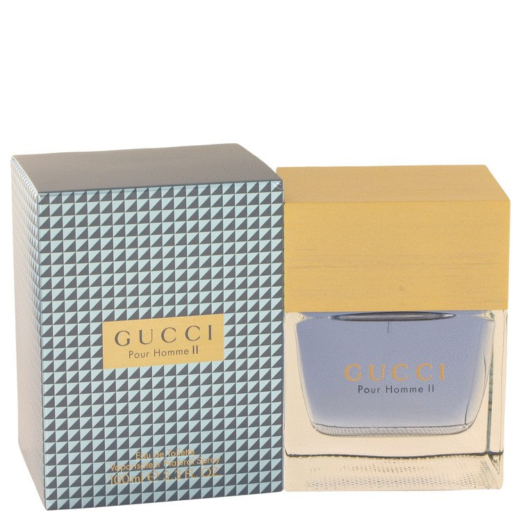 Gucci Pour Homme Ii 3.4 Oz by Gucci For Men