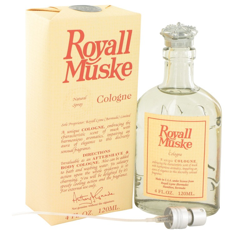 Royall Muske 4 Oz by Royall Fragrances For Men