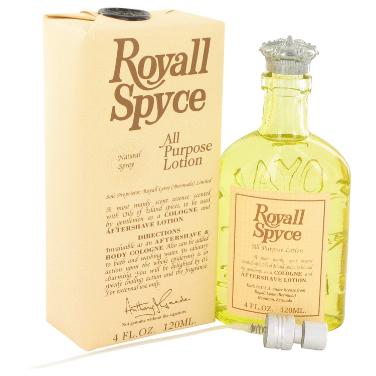 Royall Spyce 4 Oz by Royall Fragrances For Men