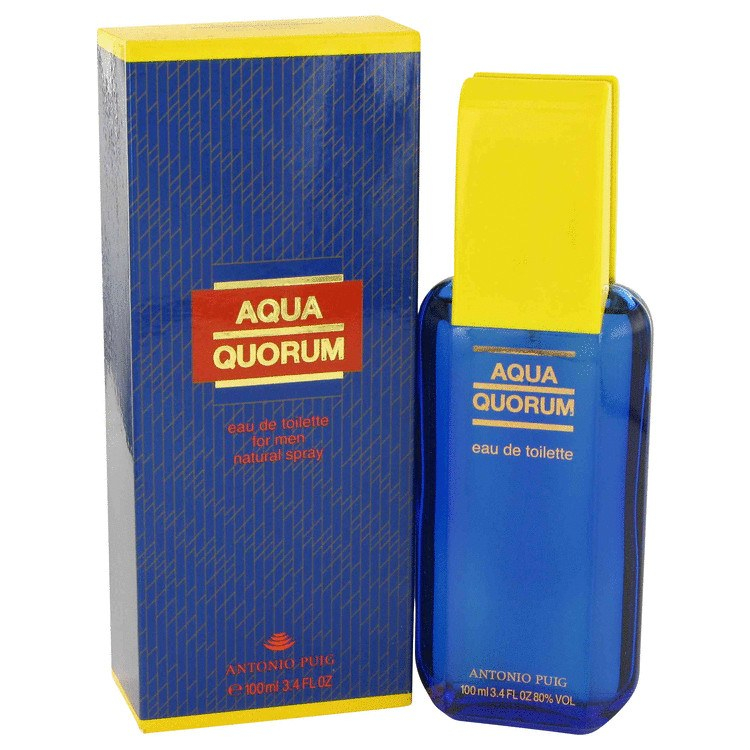 Aqua Quorum 3.4 Oz by Antonio Puig For Men