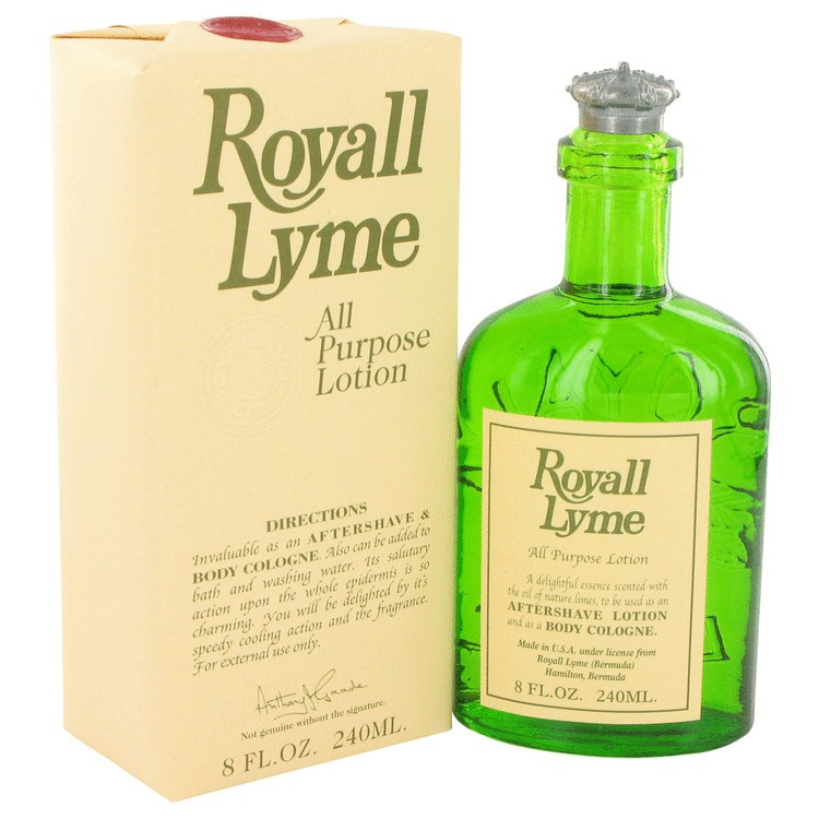 Royall Lyme 8 Oz by Royall Fragrances For Men