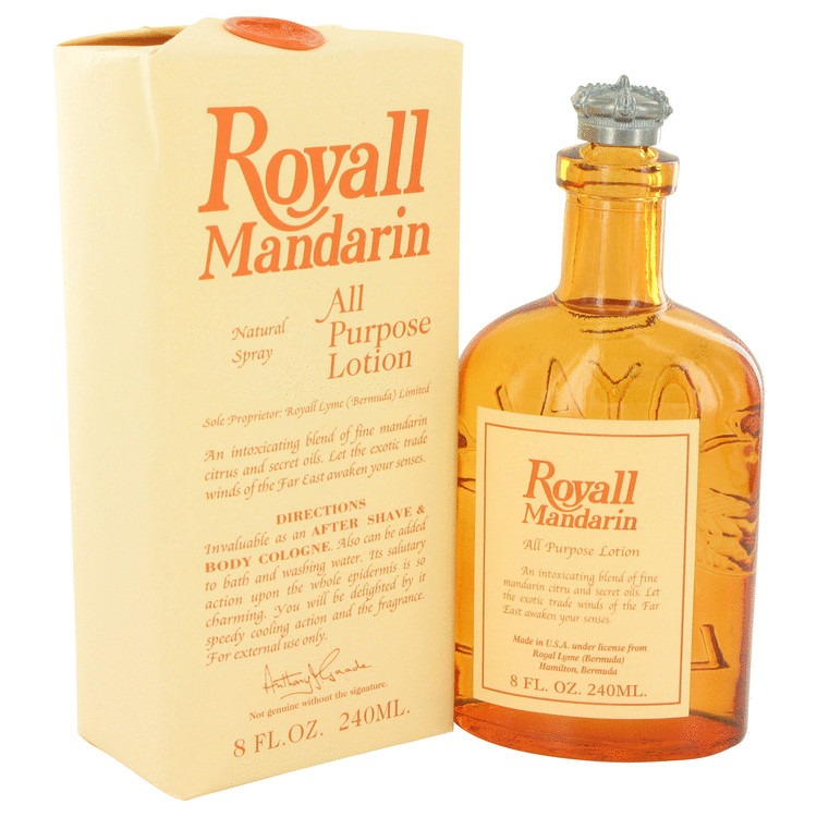 Royall Mandarin 8 Oz by Royall Fragrances For Men