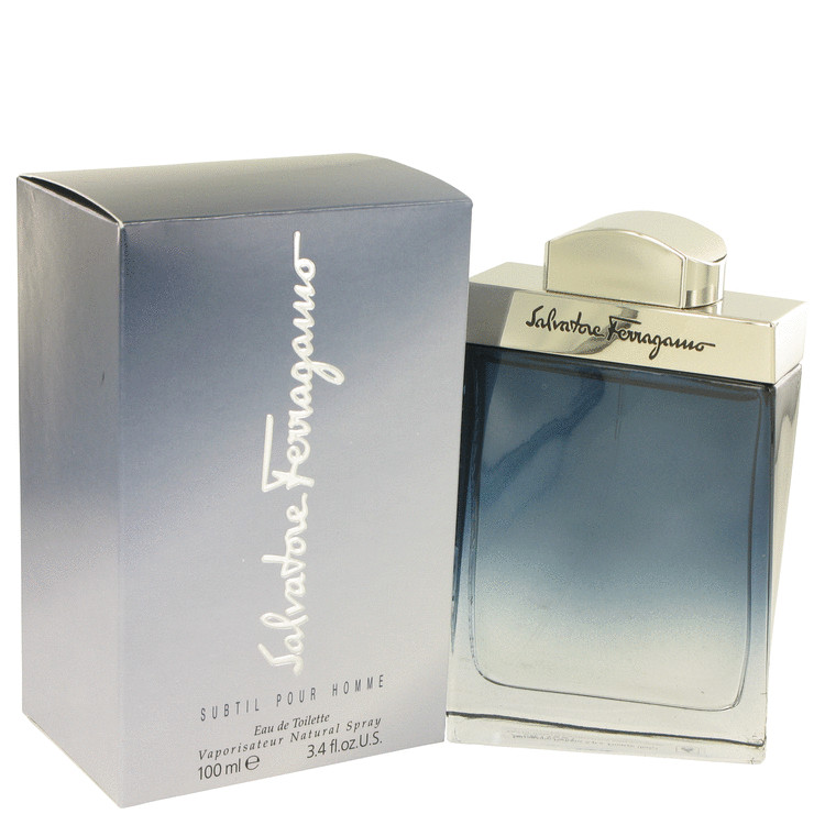 Subtil 3.4 Oz by Salvatore Ferragamo For Men