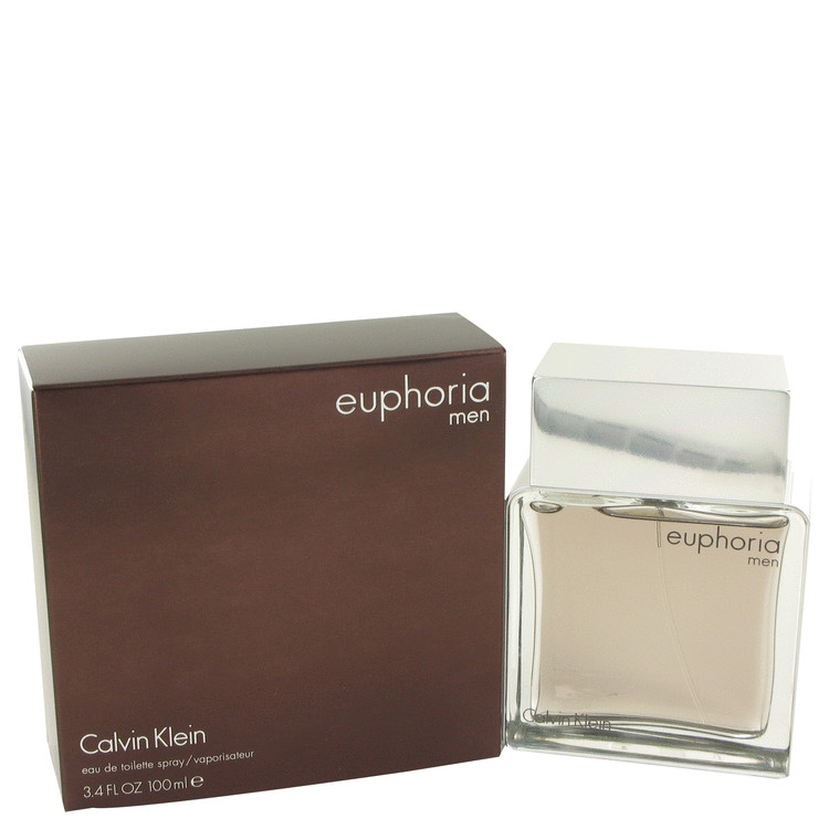 Euphoria 3.4 Oz by Calvin Klein For Men