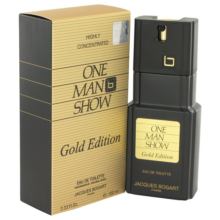 One Man Show Gold 3.3 Oz By Jacques Bogart For Men