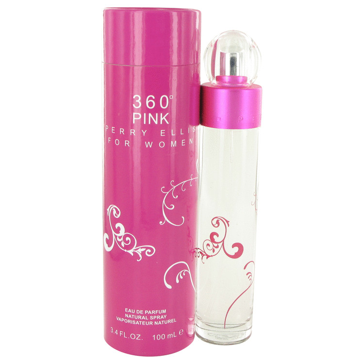 Perry Ellis 360 Pink 3.4 Oz by Perry Ellis For Women