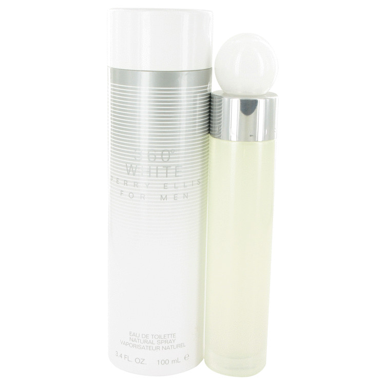 Perry Ellis 360 White 3.4 Oz by Perry Ellis For Men