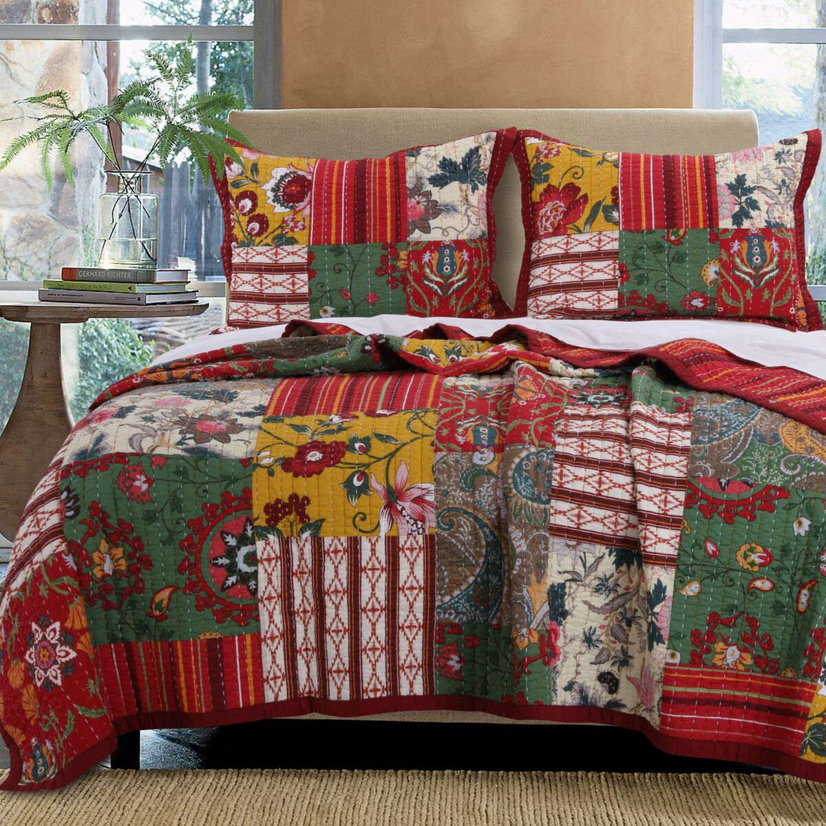 Arcadia Multi Quilt Set, 3-Piece King