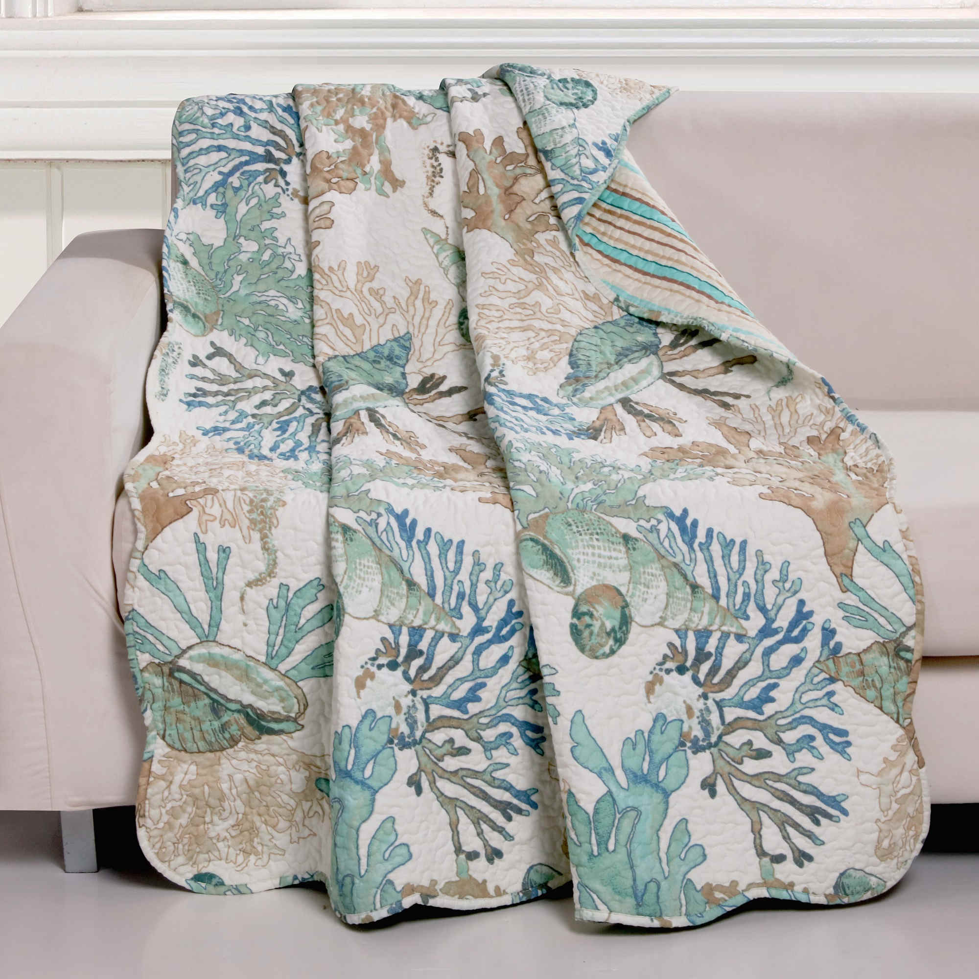 Atlantis Jade Accessory Throw