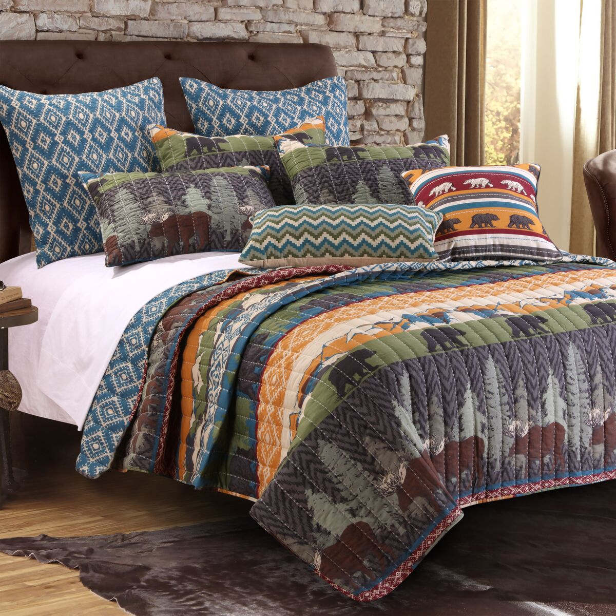 Black Bear Lodge Multi Bonus Set, 5-piece Full/queen