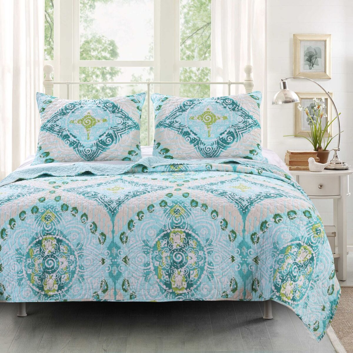 Cascade Multi Quilt Set, 2-Piece Twin
