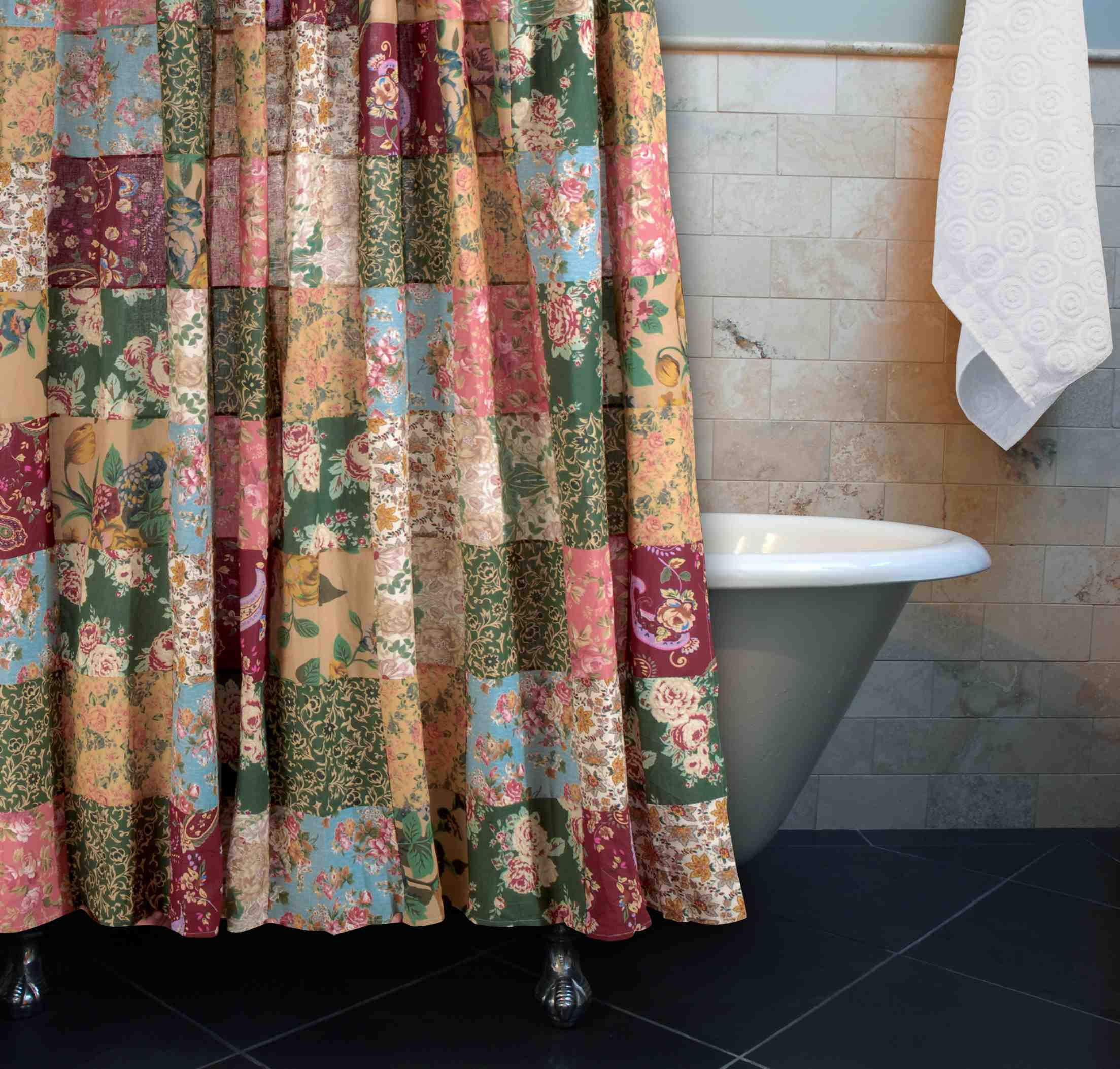 Antique Chic Multi Bath Shower Curtain