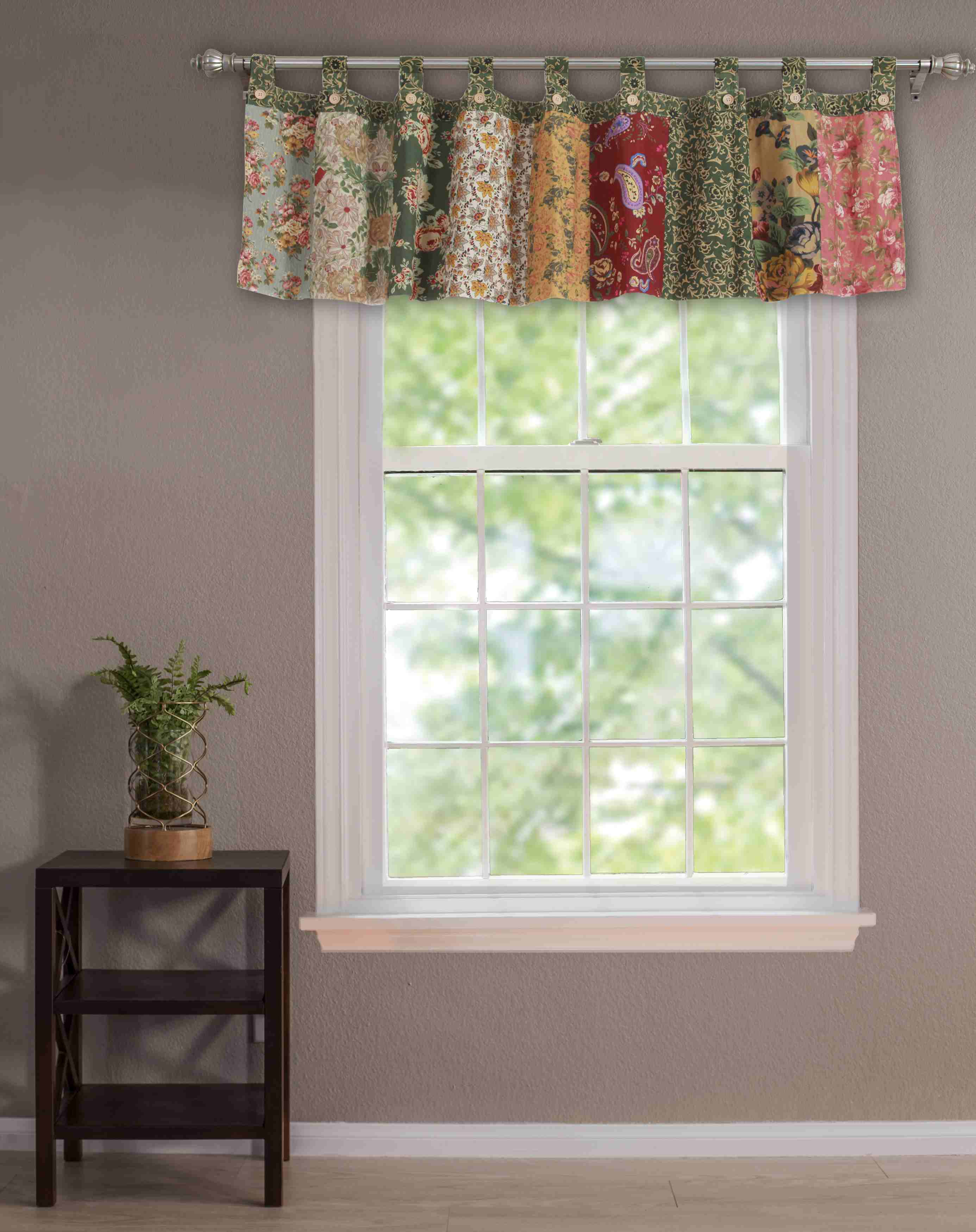 Antique Chic Multi Window Valance