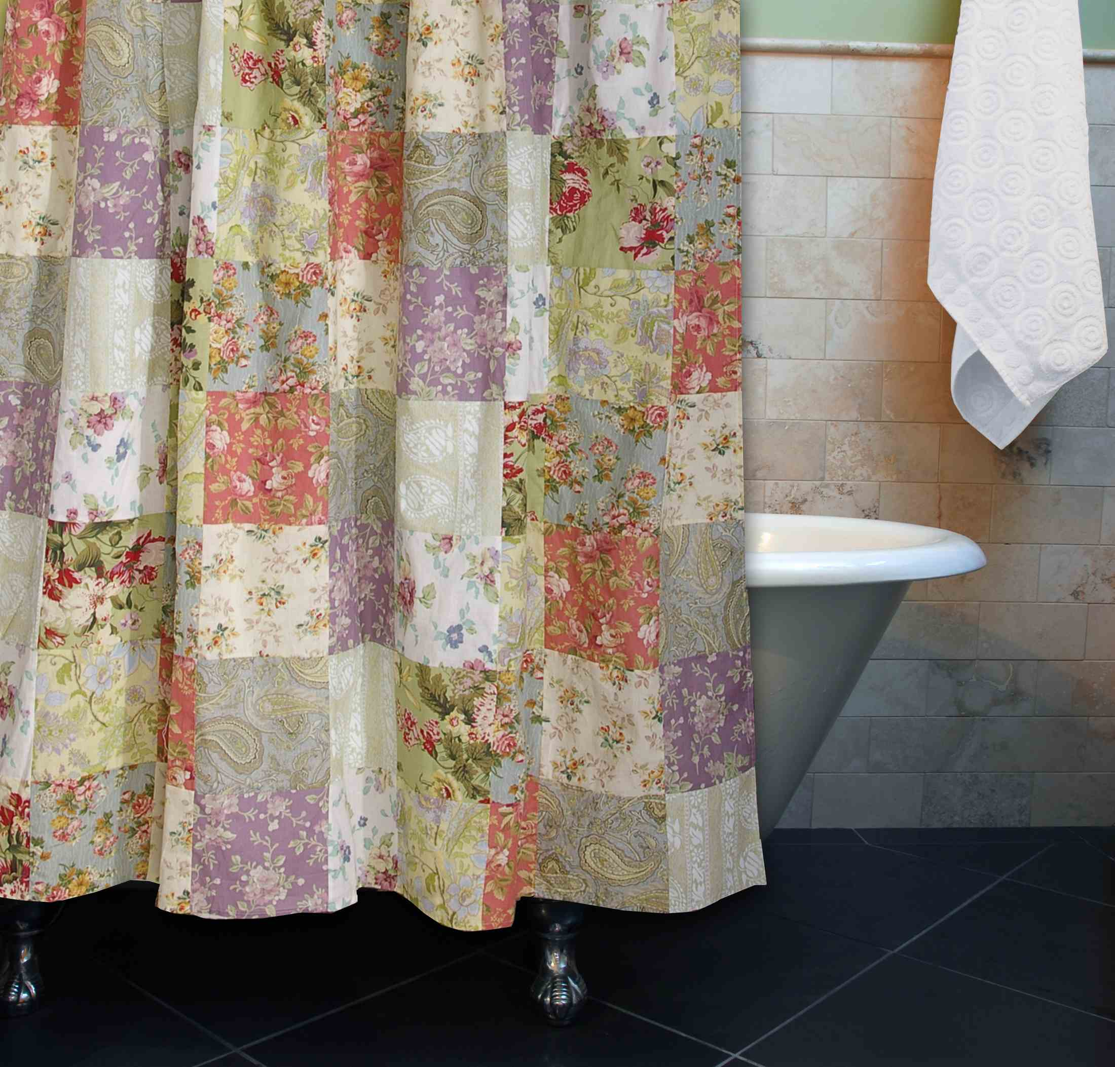 Blooming Prairie Multi Bath Shower Curtain