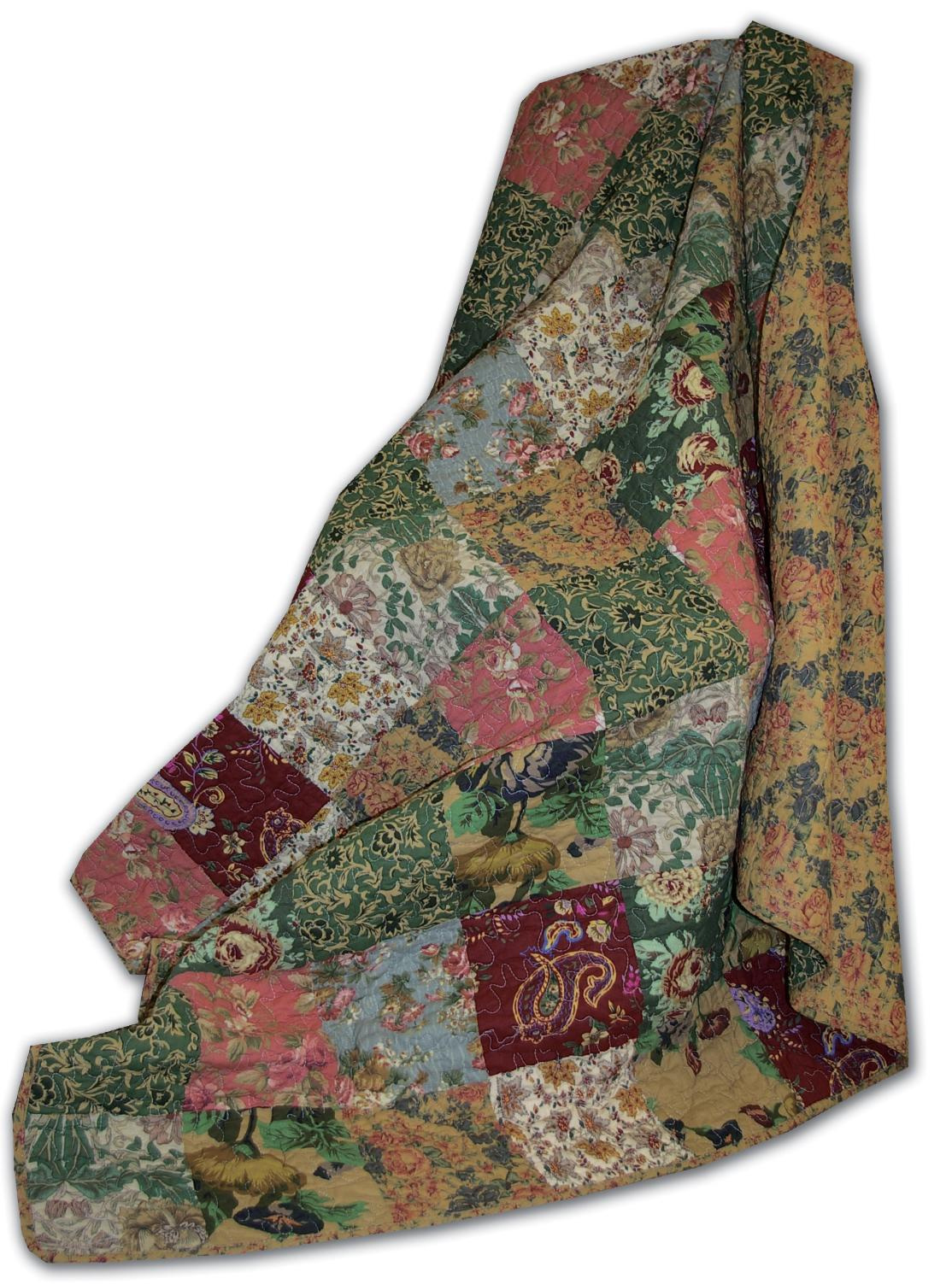 Antique Chic Multi Accessory Throw