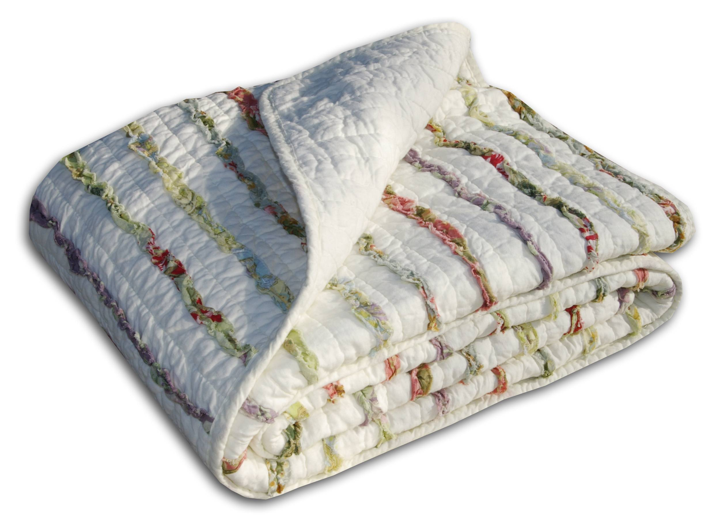 Bella Ruffle Multi Accessory Throw