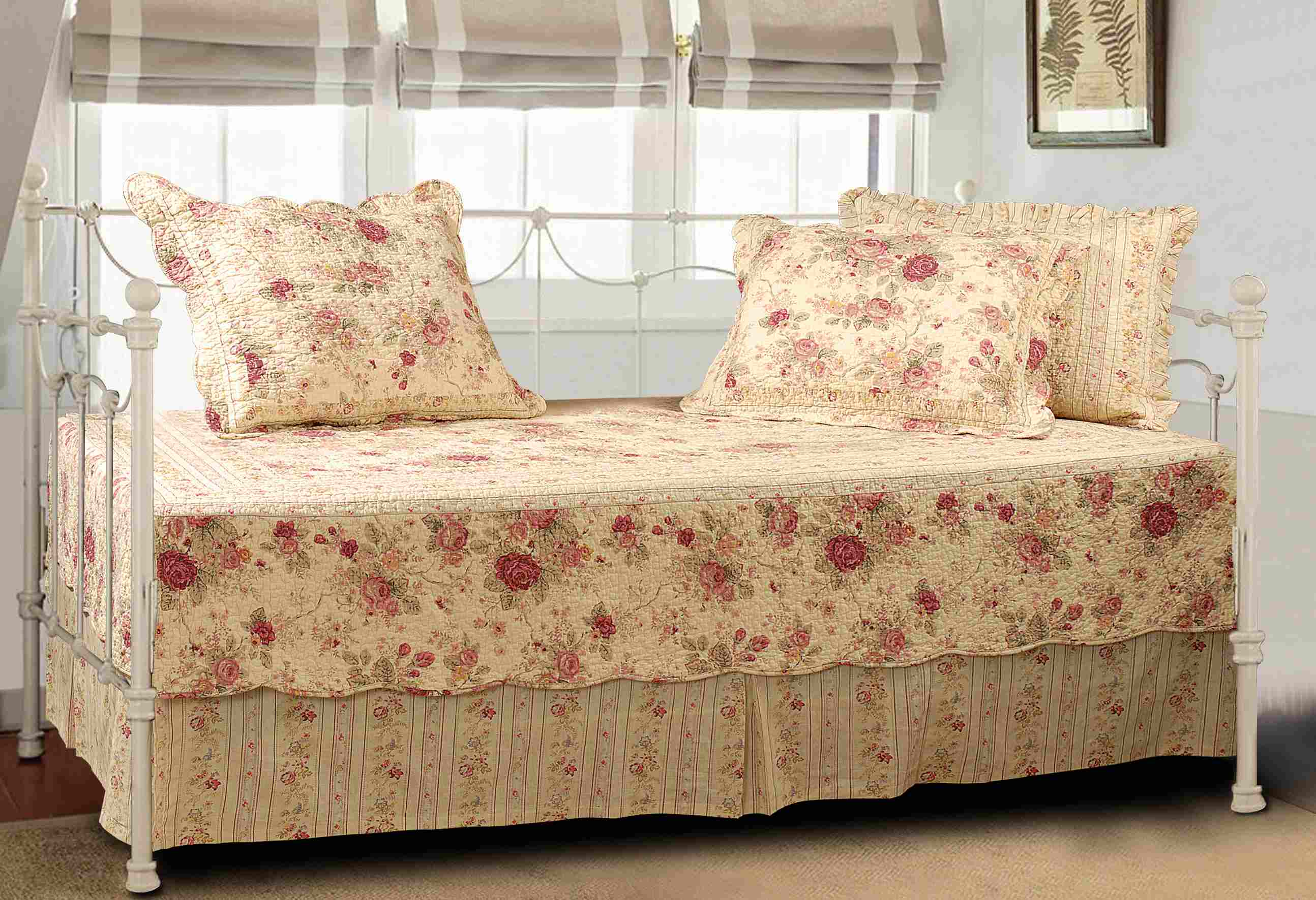 Antique Rose Multi Daybed Set, 5-piece Daybed