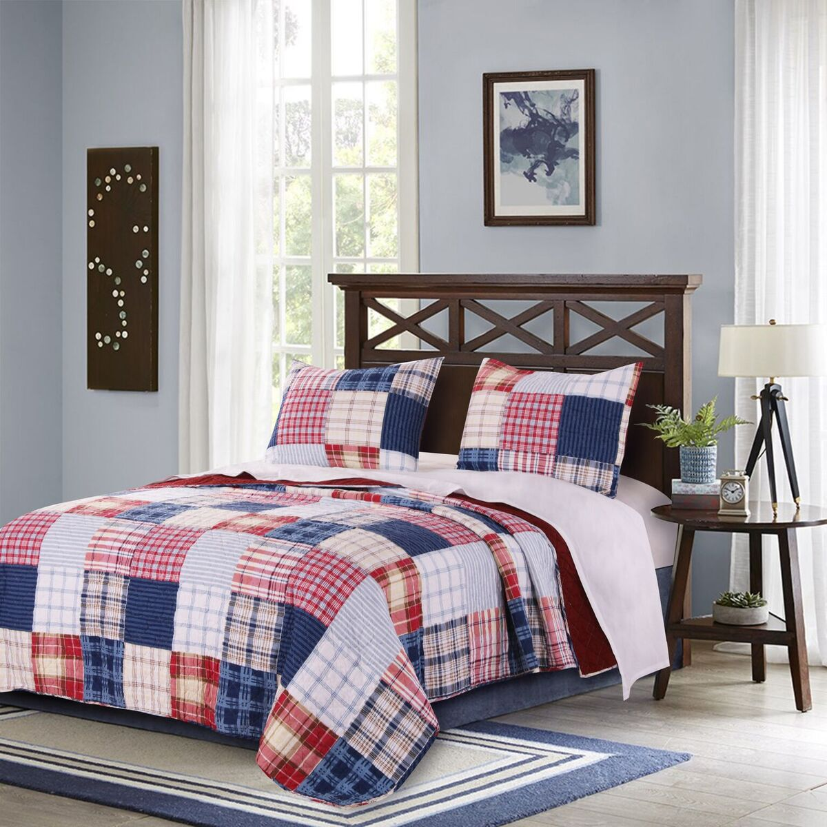 Hampton Multi Quilt Set, 3-Piece King