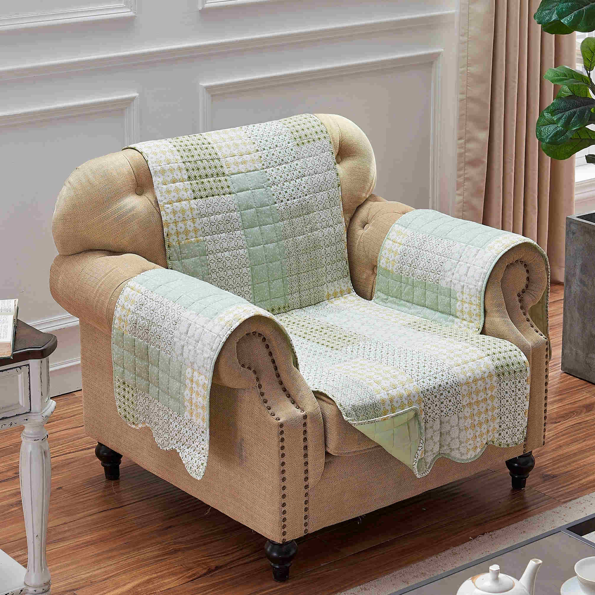 Juniper Sage Furniture Protector Arm Chair