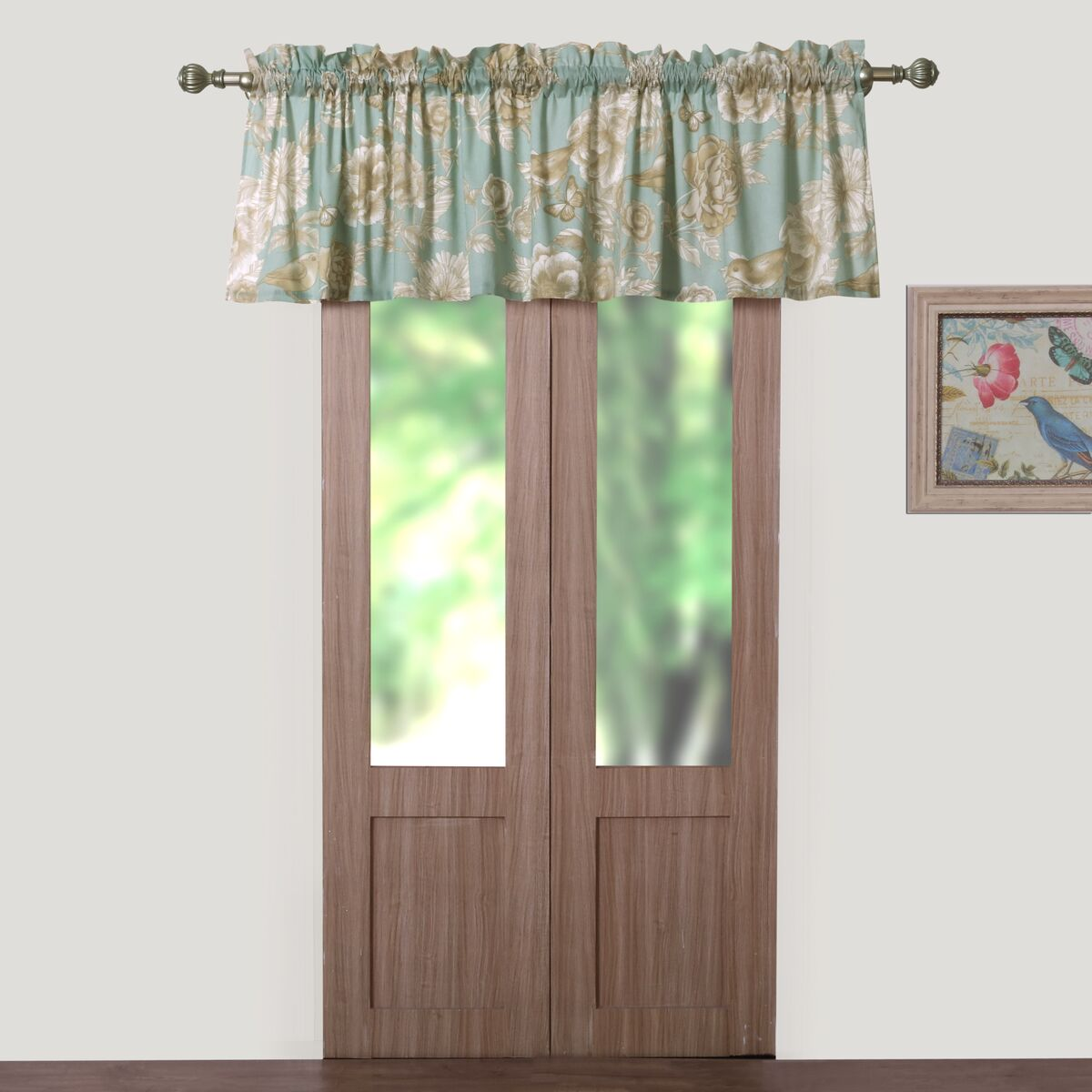 Naomi Spa Window Valance