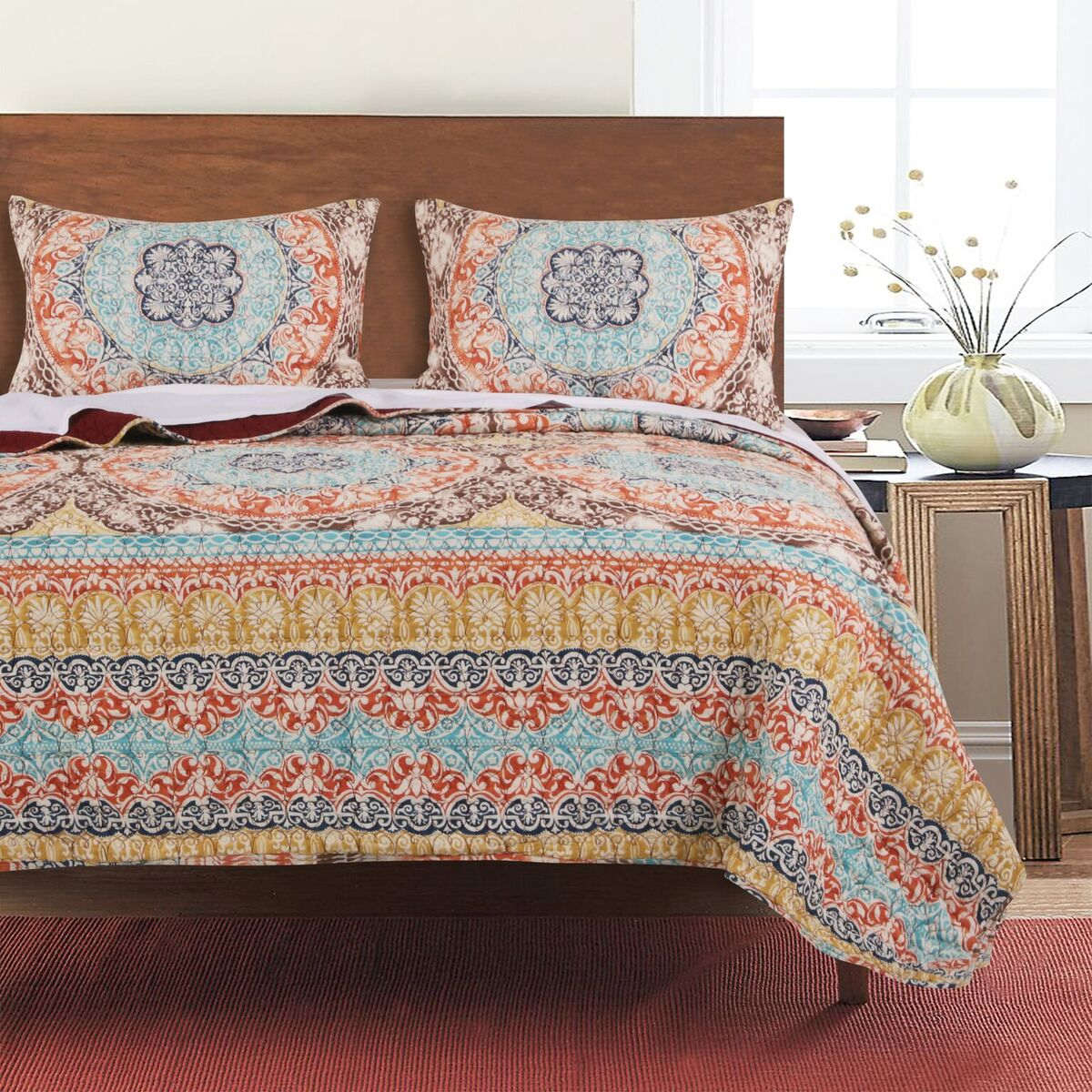 Olympia Multi Quilt Set, 2-piece Twin