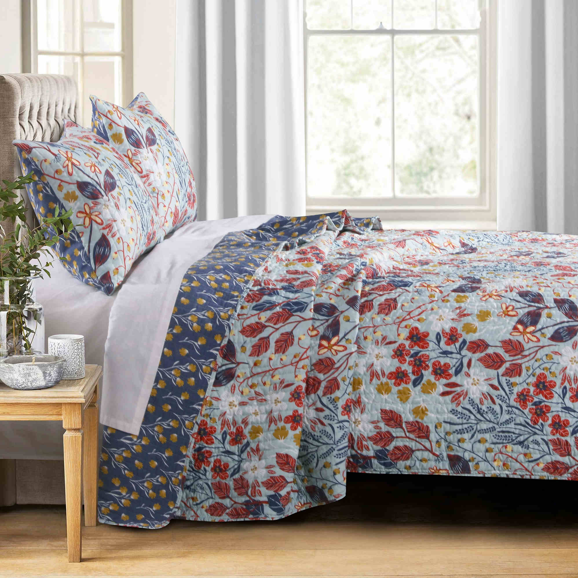 Perry Multi Quilt Set, 3-piece King