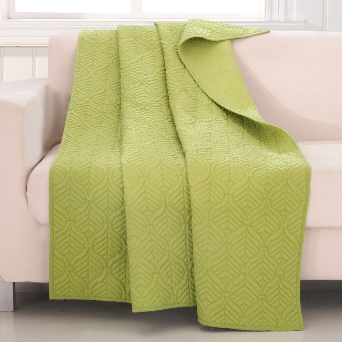 Piper Green Accessory Throw