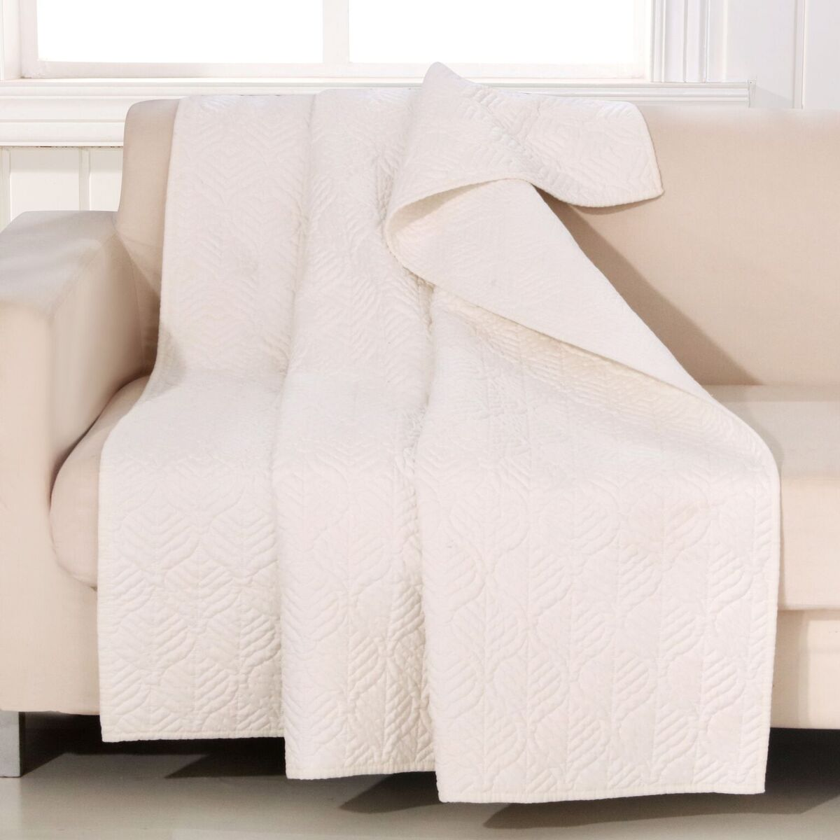 Piper Ivory Accessory Throw