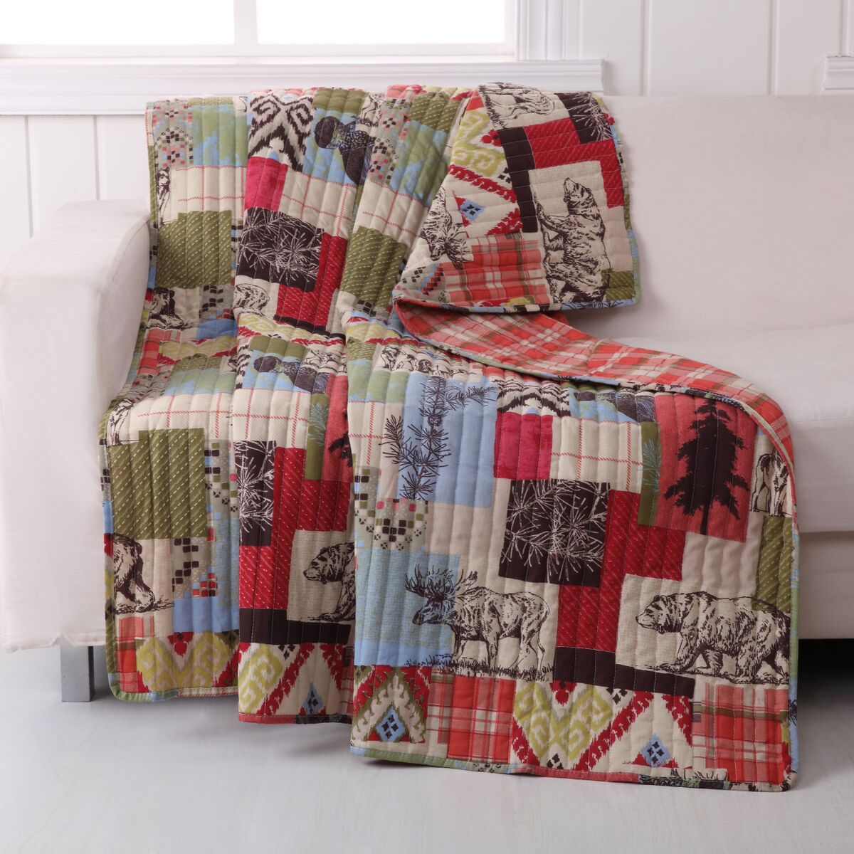 Rustic Lodge Multi Accessory Throw