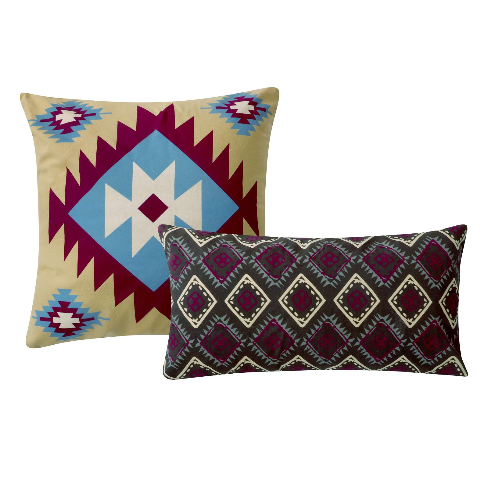 Southwest Multi Accessory Dec. Pillow Pair