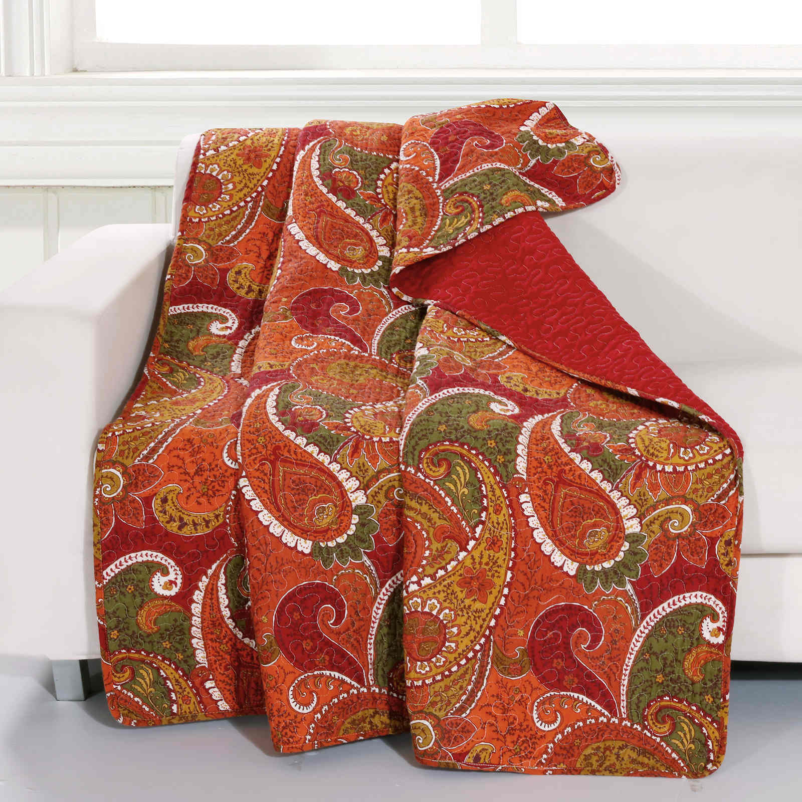 Tivoli Cinnamon Accessory Throw