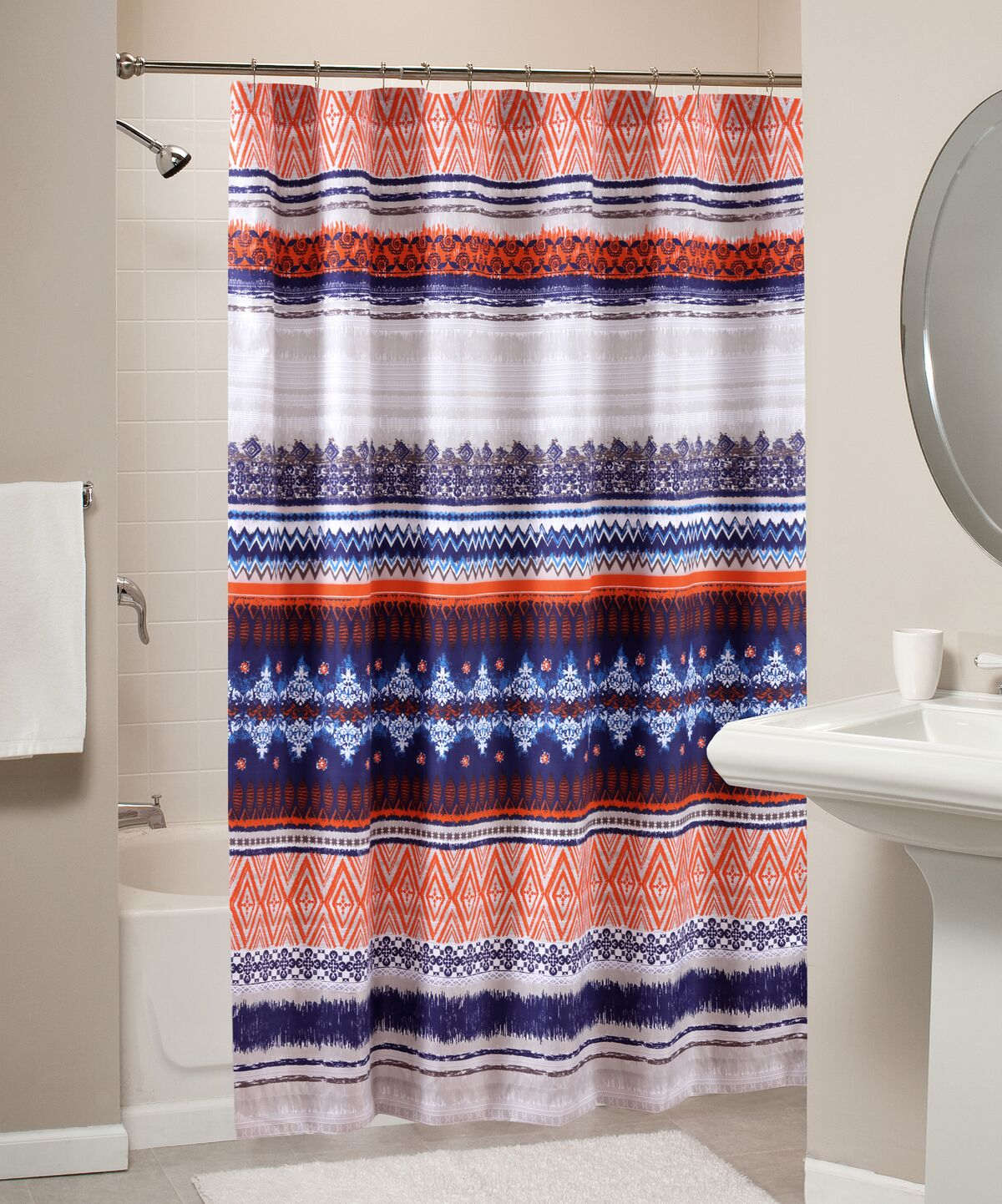 Urban Boho Multi Bath Shower Curtain