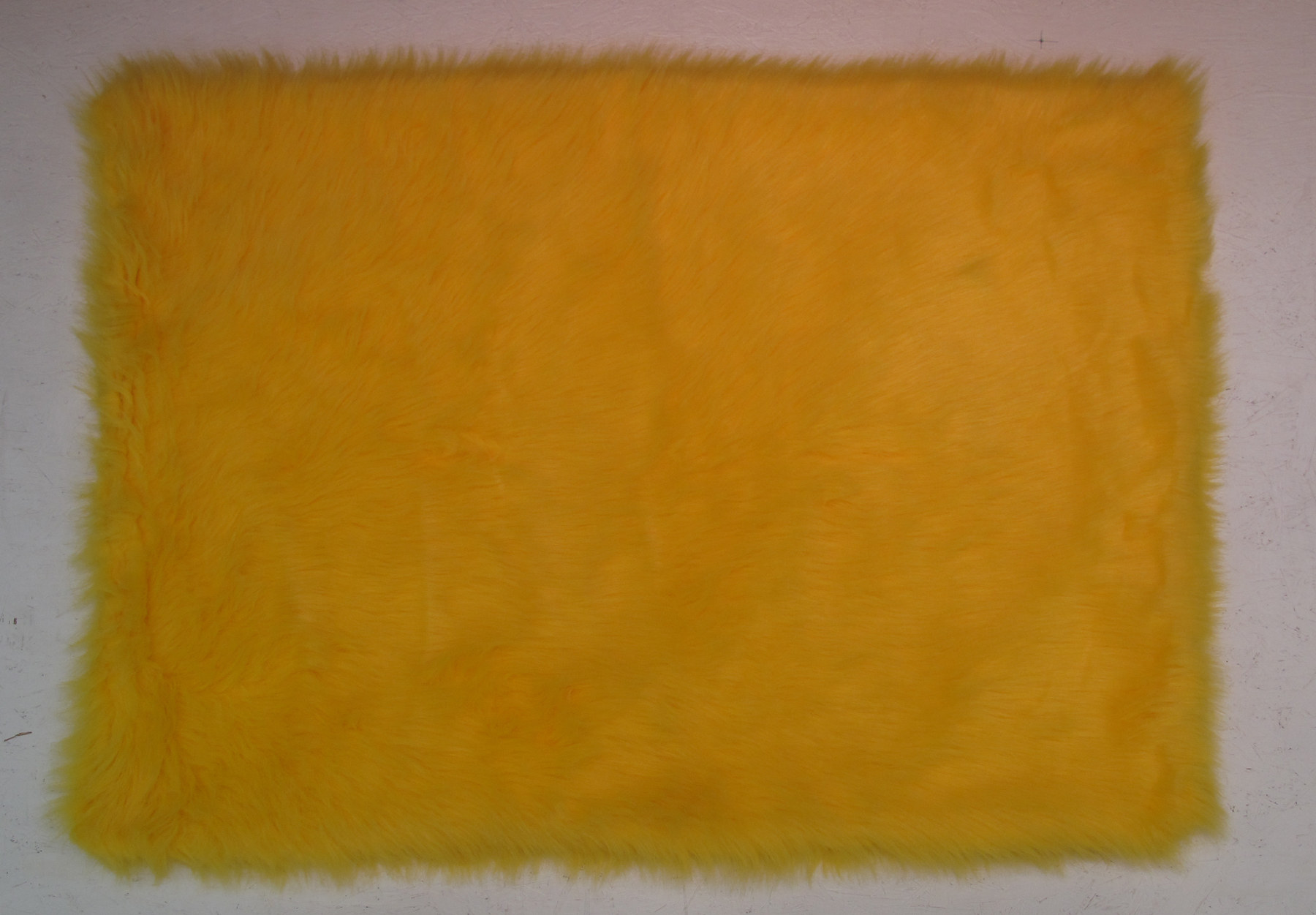 Fun Rug Flokati Yellow Area Rug