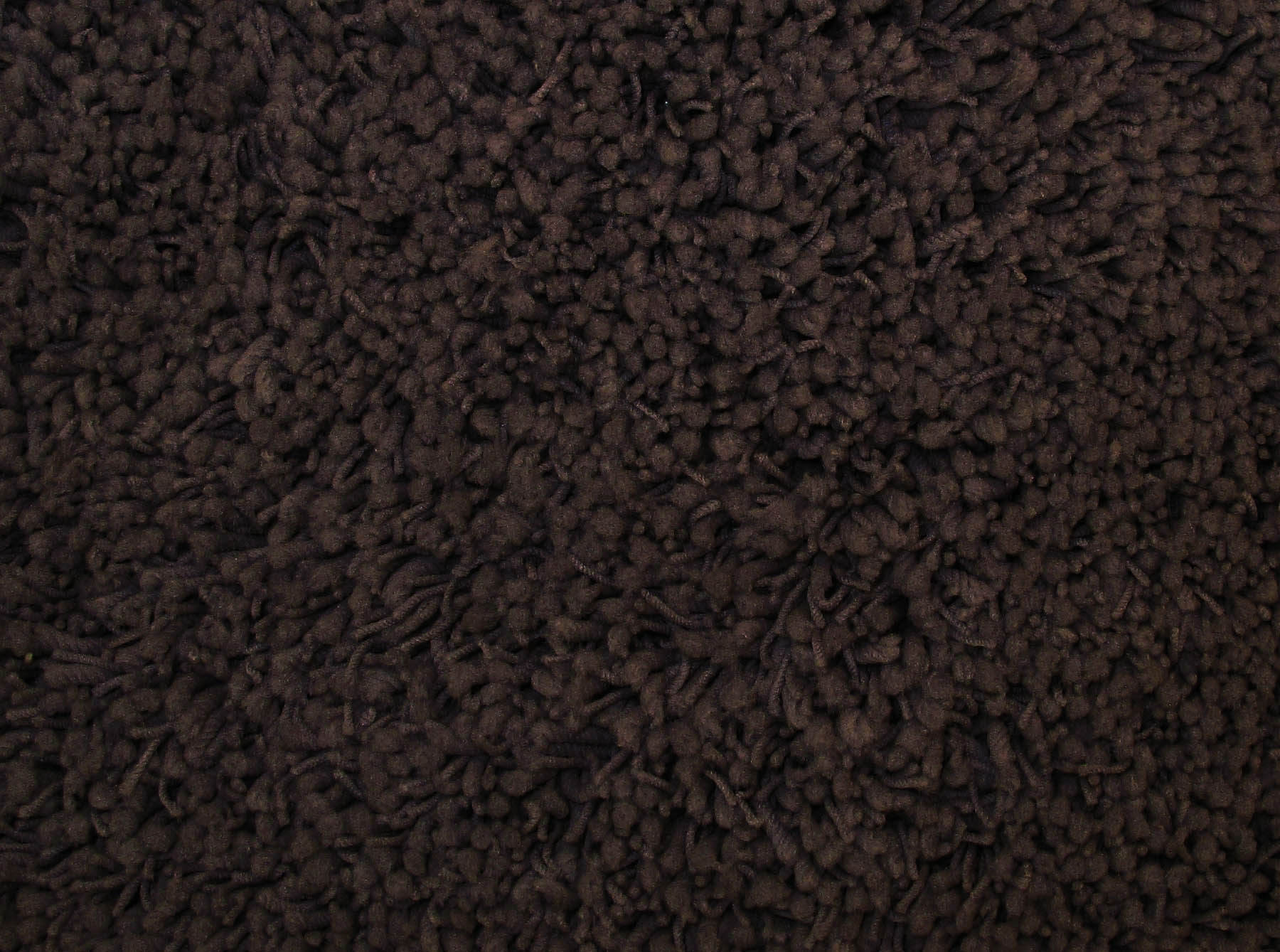 La Rug Shag Plus Shp-36  Dark Brown