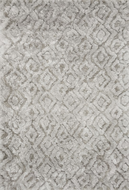 Loloi Caspia Cap-02 Silver Rug By Justina Blakeney