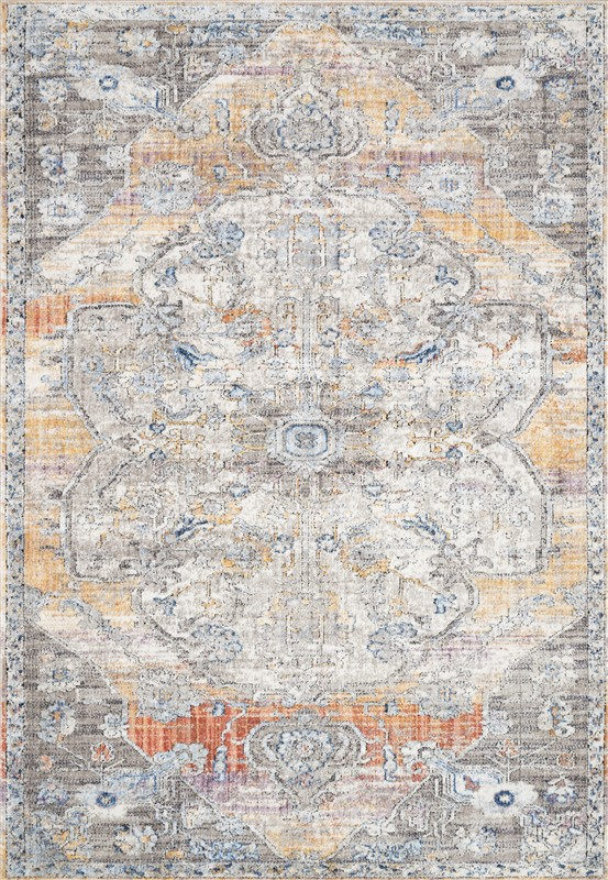 Loloi Dante Dn-06 Natural / Sunrise Area Rug