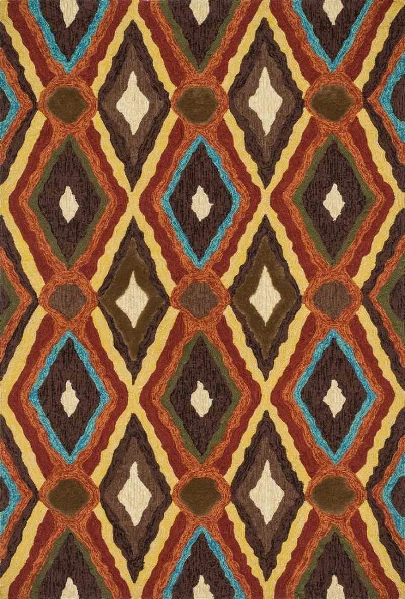 Loloi Enzo Ez05 Brown / Multi Rug