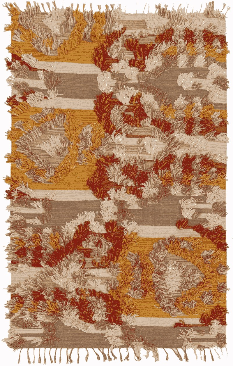 Loloi Fable Fd-02 Camel / Sunset Rug