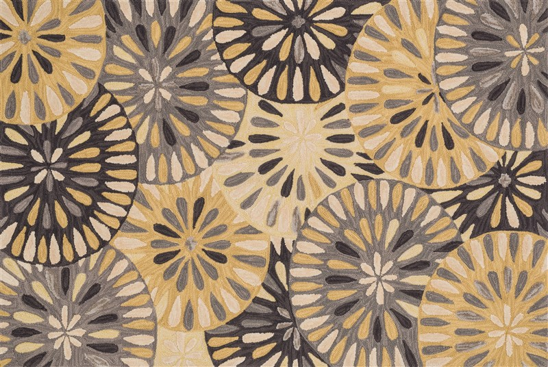 Loloi Gabriella Gb-07 Grey / Gold Rug