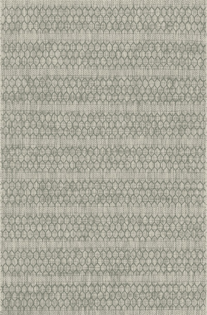 Loloi Isle Ie-01 Grey / Teal Rug