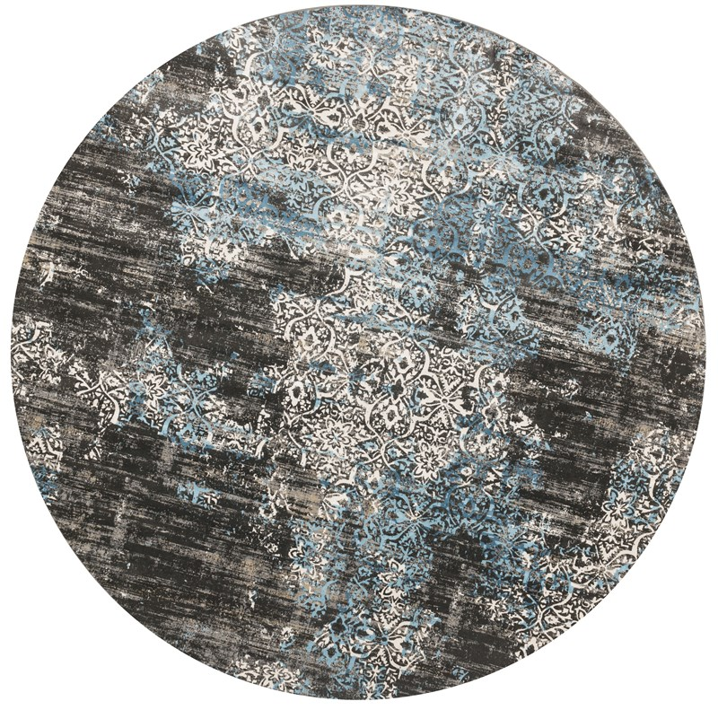 Loloi Kingston Kt-02 Charcoal / Blue Rug