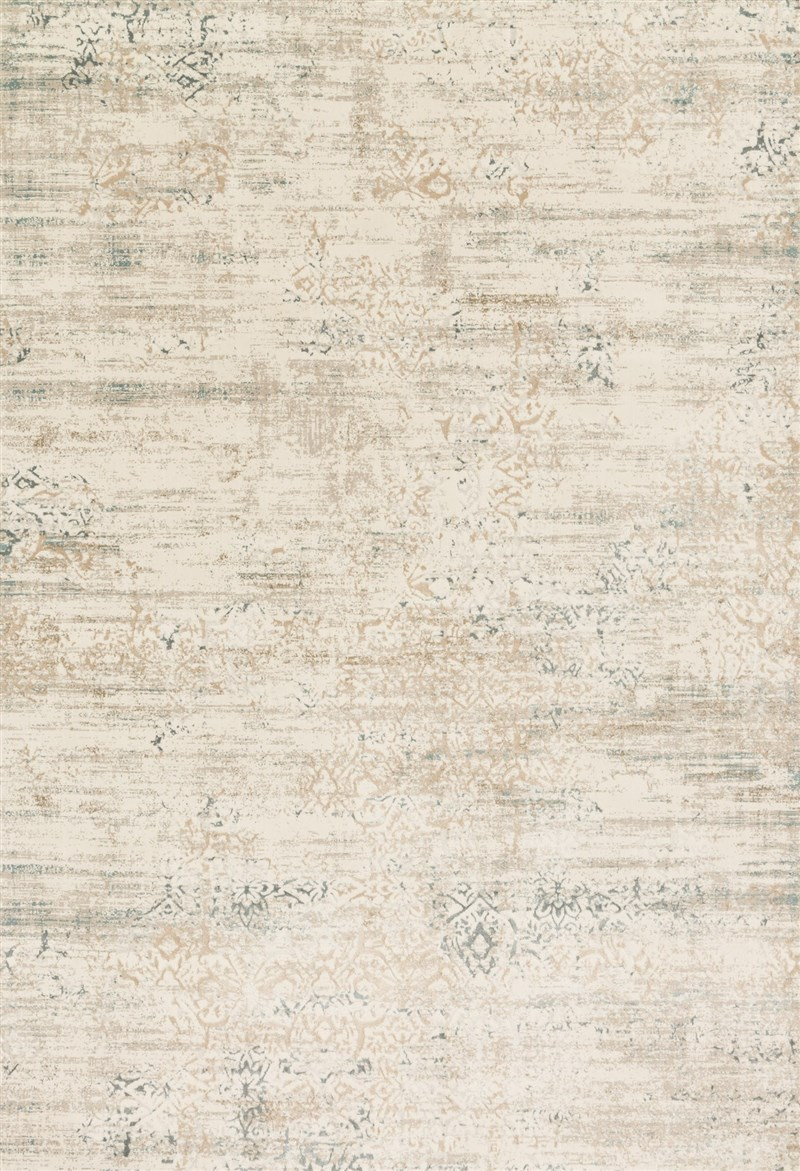 Loloi Kingston Kt-02 Ivory / Stone Rug
