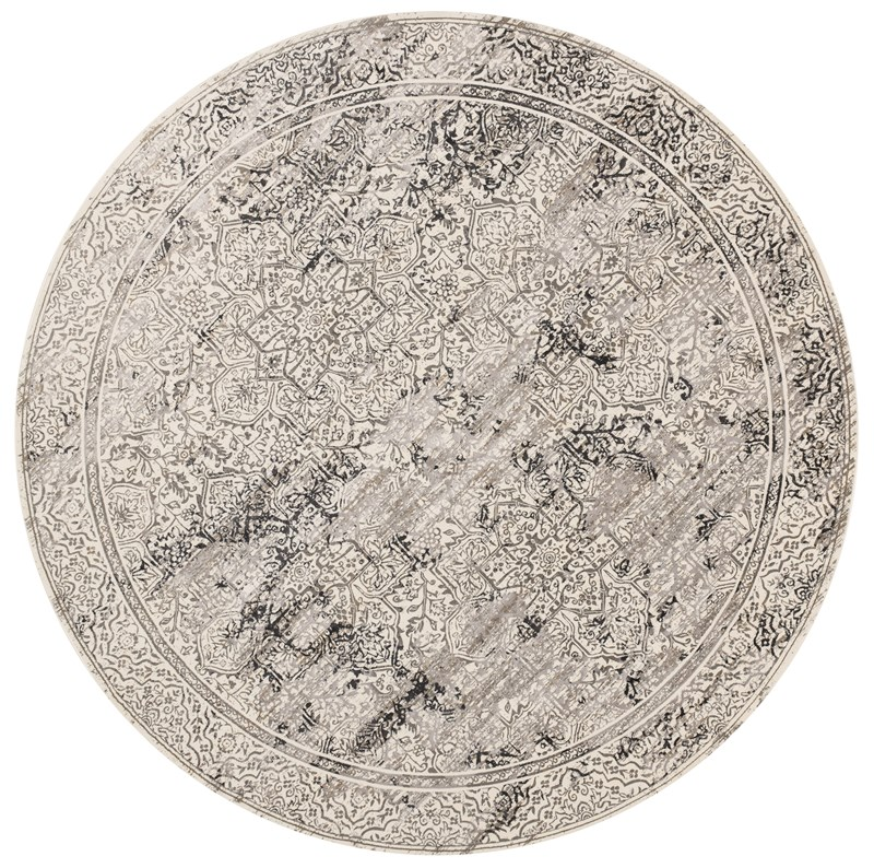 Loloi Kingston Kt-06 Ivory / Grey Rug