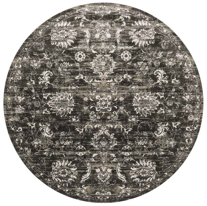 Loloi Kingston Kt-07 Charcoal / Silver Rug