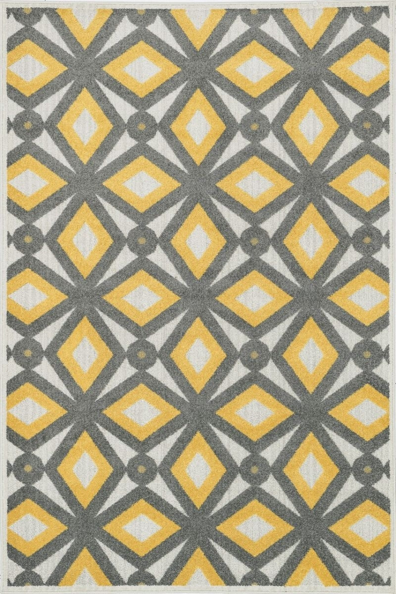 Loloi Oasis Os04 Grey / Lemon Rug