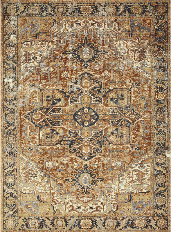 Loloi Sebastian Traditional Red Rugs Seb-03