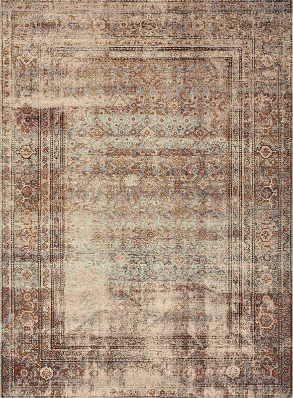 Loloi Sebastian Traditional Natural Rugs Seb-05